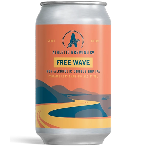 Athletic Brewing - Free Wave Double Hop IPA