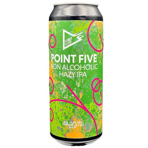 Funky Fluid - Point Five Hazy IPA