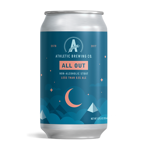 Athletic Brewing - All Out Stout