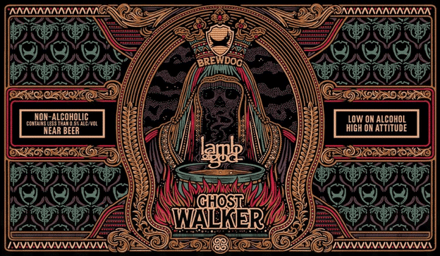 brewdog ghost walker lamb of god alcoholvrij craftbier
