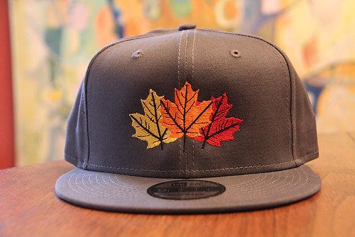 Maple Leaf Snap Back Hat