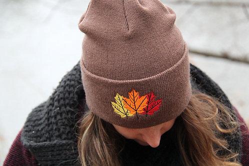 Maple Leaf Beanie