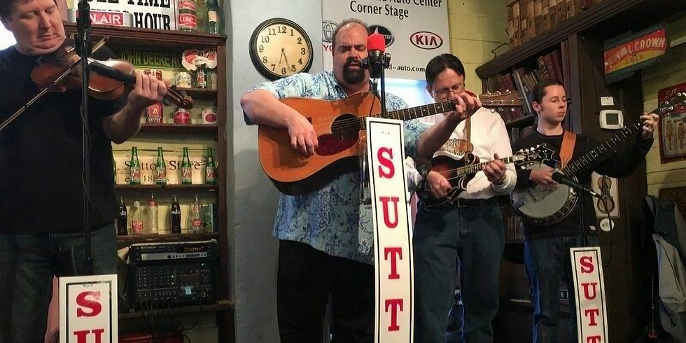 The Borrowed Mules @ Sutton Ole Time Music Hour