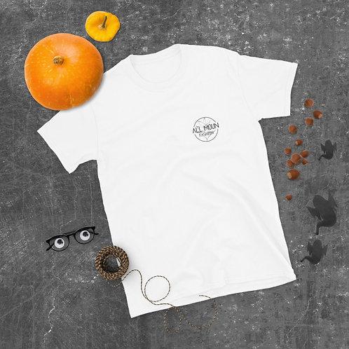 T-shirt blanc logo noir