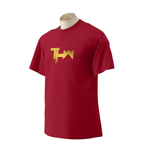THW Cardinal Red Gold Link Classic Tee
