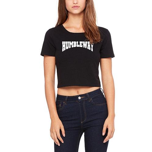 THW Blackout Crop Archway T shirt