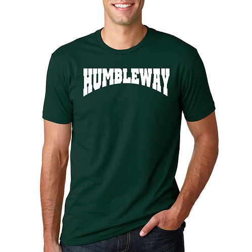 THW Forest Green Archway Tee