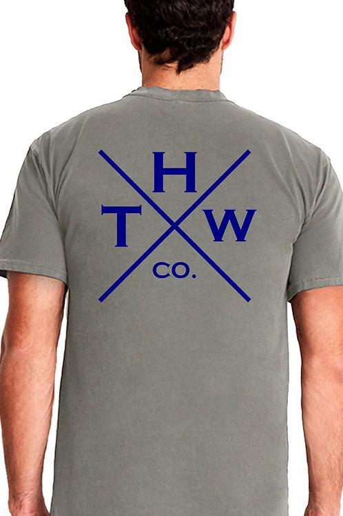 THW Double X Dye Crew (Flint)