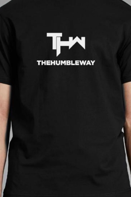 THW Black XL logo Tee