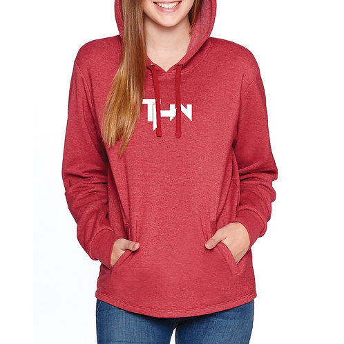 THW Classic Heather Cardinal Pullover