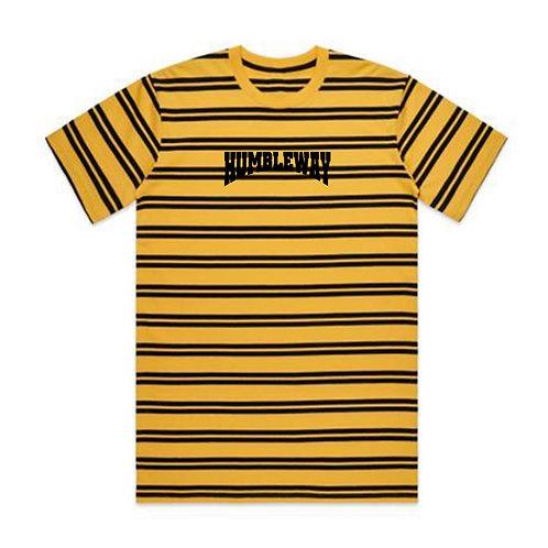 THW Stripe Yellow/Gold Tee