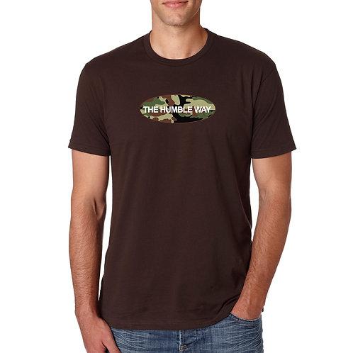 THW Dark Chocolate Camo Graphic T Shirt