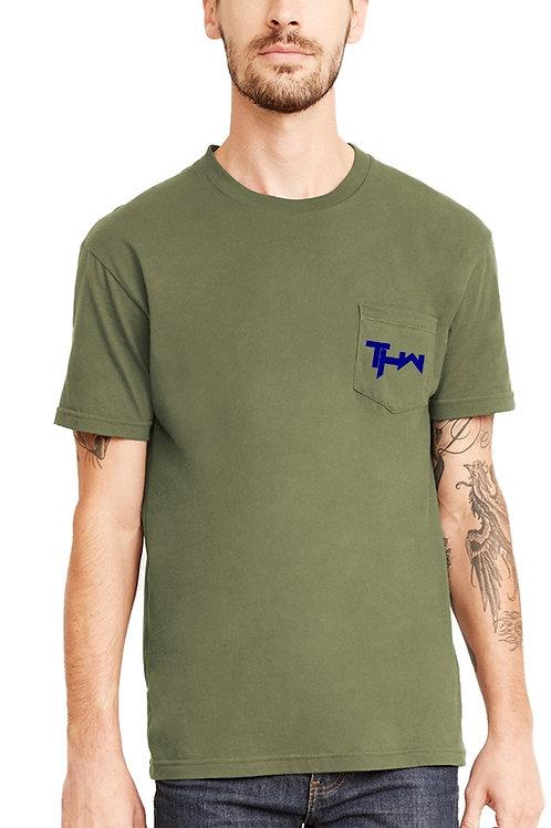 THW Pocket Crew Military Green