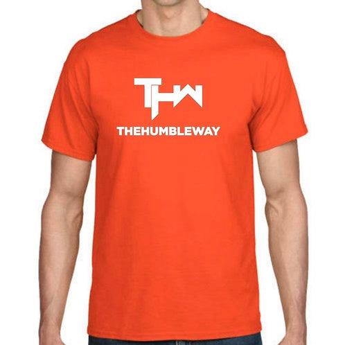 THW Orange XL Logo Tee