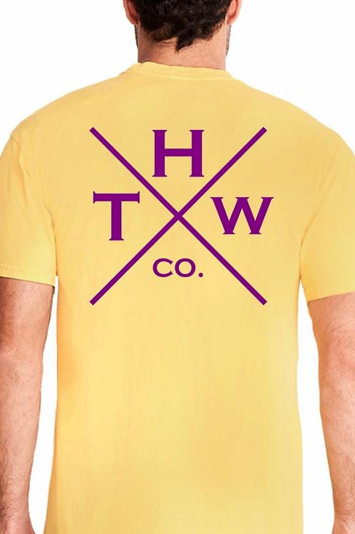 THW Double X Dye Crew (Blonde&Purple)