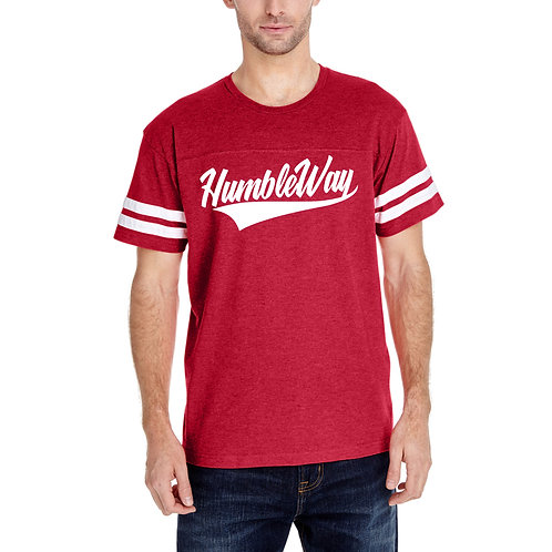 THW Red Football Tee