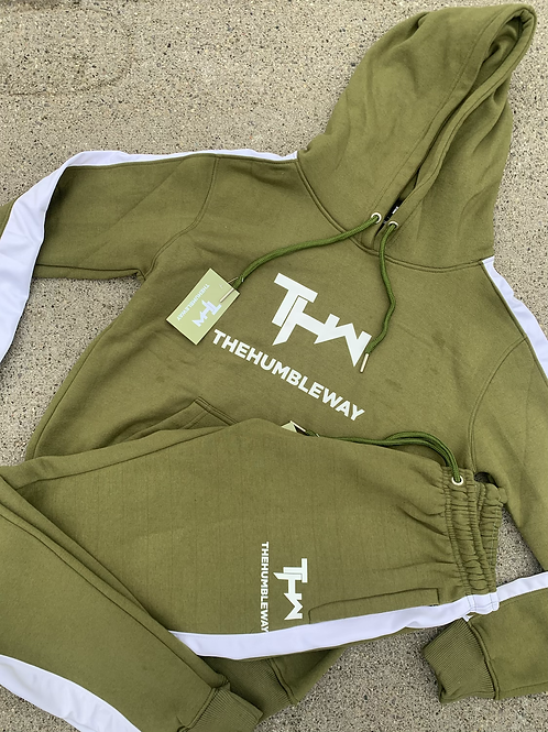 THW Olive Green Sweatsuit (Mens)