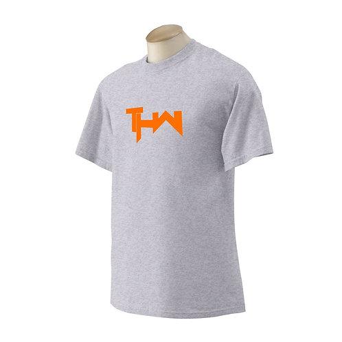 THW Texas Orange Classic Tee (Heather Grey)