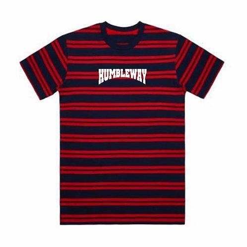 THW Stripe Red/Navy Tee