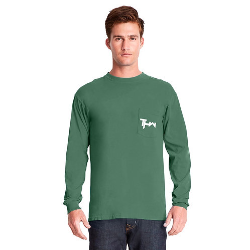 THW Clover Longsleeve Crew with Pocket