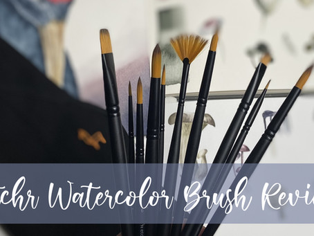 Etchr Watercolor Brush Review!