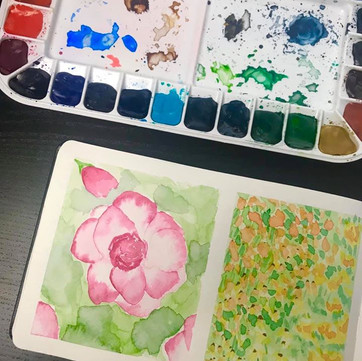 Sketchbook Session: Florals