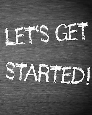 Let's get started - Megaphone Motivation