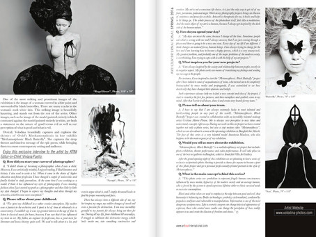 Arttour International Magazine Spring 2016 Interview with Olga Volodinana