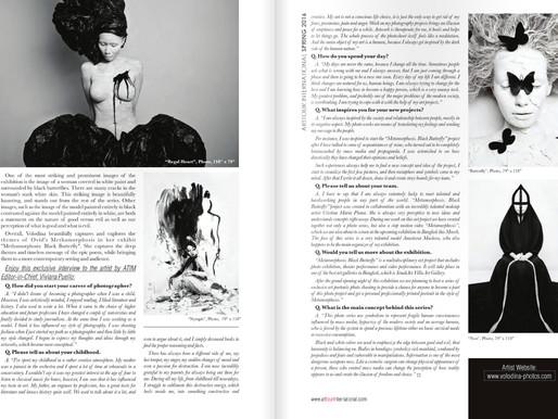 Arttour International Magazine Spring 2016 Interview with Olga Volodinana