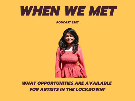 What opportunities are available for artists in the lockdown?