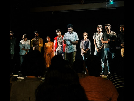 From realism to surrealism,this play by Natak Company makes you question 'Is this right or wrong'?