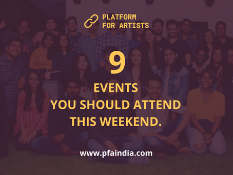 9 events you should attend this weekend #36