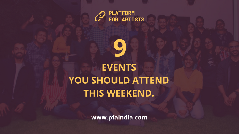 9 events you should attend this weekend #34