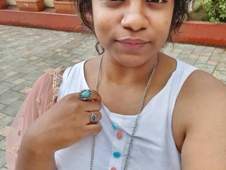 Writer and a civil engineer - Shruti Damgir.