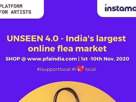 Supporting artists of India through an online flea market.