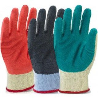 Click 2000 MP1 Rubber Palm Coated Grip Gloves