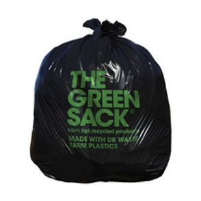 100% Recycled Black Refuse Sack