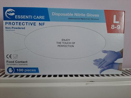 Powder-Free Blue Nitrile Gloves