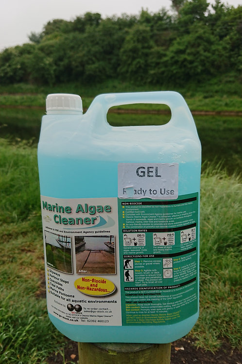 Gel Marine Algae Cleaner 5 Litre