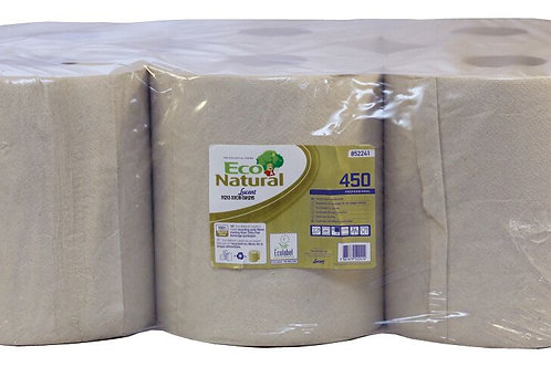 Lucart EcoNatural 2 Ply Centrefeed Roll x 6  852241Y