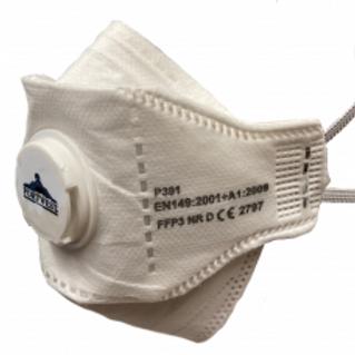 Portwest Eagle FFP3 Valved Dolomite Respirator Mask P391