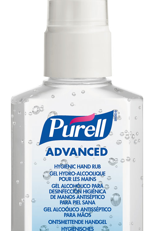 Purell Advanced Sanitiser Pump Bottle 60ml