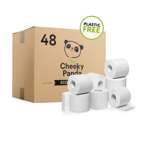 Cheeky Panda Plastic-Free Bamboo Toilet Rolls Case 48