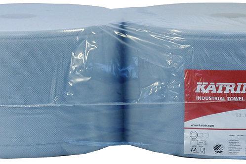 Katrin Classic L3 Blue Wiping Roll 464217 380m per roll