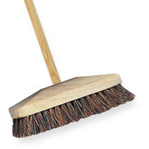 Deck Scrub Brush Complete with Long Handle