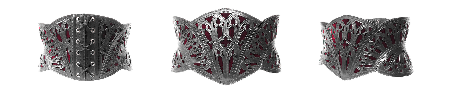 CATHEDRAL CORSET BELT