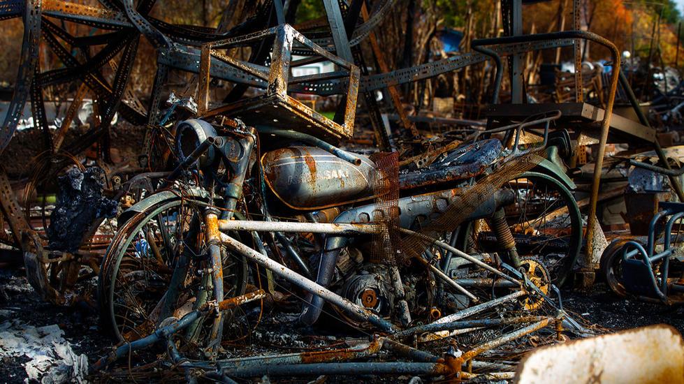 California-Wildfire-Tubbs-burned motorci