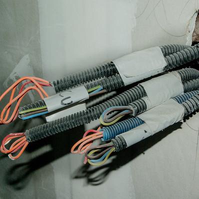 tableau électrique goulotte