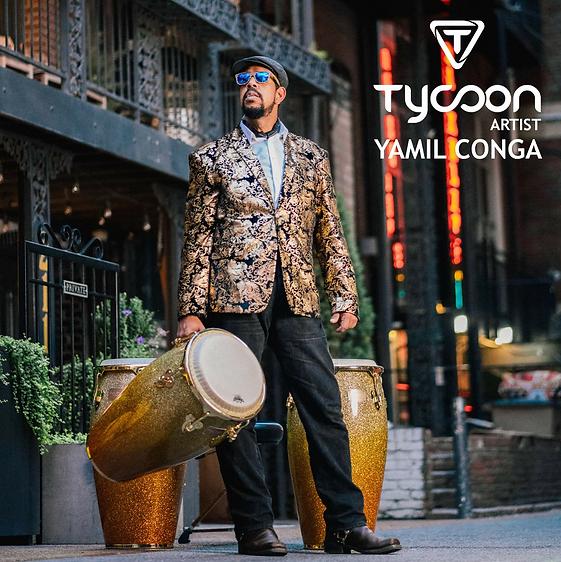 Yamil Conga Tycoon Percussion promo poster