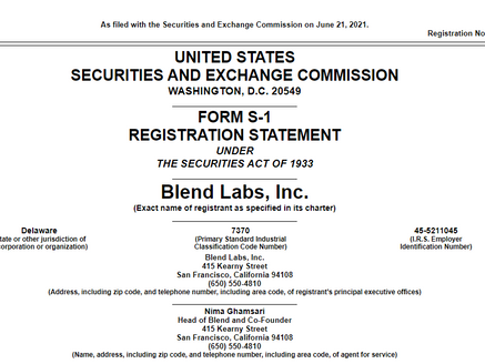 "Profile: Blend Labs, Inc (""BLND"")"